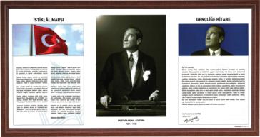 Atatürk Corner Laminate Frame