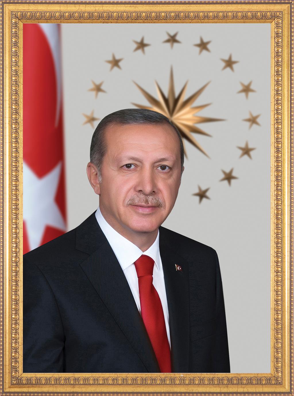 Cumhurbaşkanı Recep Tayyip Erdoğan Portresi