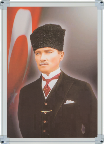 Elegant Çerçeveli Özel Atatürk Koleksiyonu