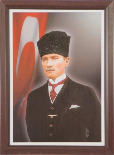 Laminant Çerçeveli Özel Atatürk Koleksiyonu