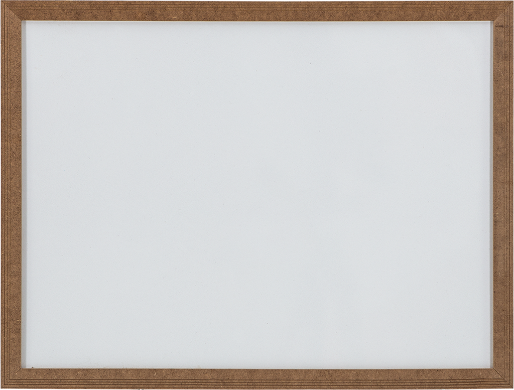 Laminate Surface MDF Frame Wall Mounted Writing Board