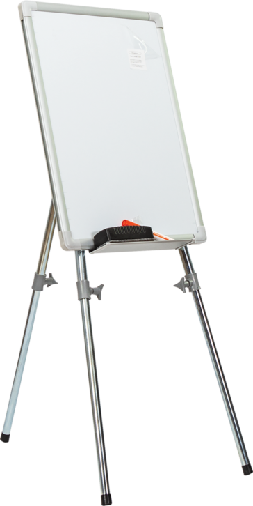 Laminate Surface Telescopic Leg Writing Board