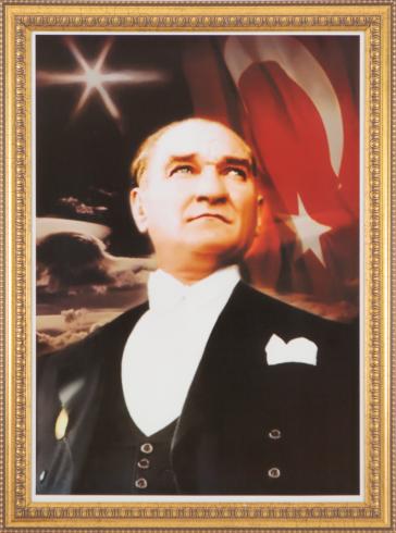 Varaklı Çerçeveli Özel Atatürk Koleksiyonu